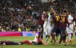 """Chùm ảnh Barca """"bẻ cánh"""" kền kền trắng ngay tại Bernabeu"""
