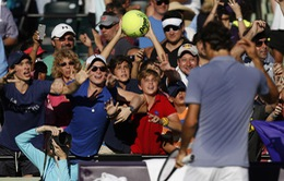 """Chùm ảnh Federer thất bại trước """"hiện tượng"""" Nhật Bản"""