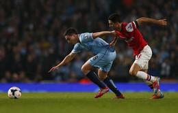 Arsenal 1-1 Man City: Chia điểm ở Emirates (VIDEO)