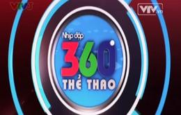 Nhịp đập 360 độ thể thao ngày 30/3: Toàn cảnh bóng đá châu ÂU