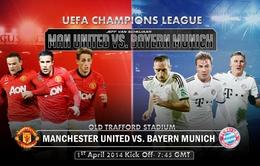 """1h45 ngày 2/4, VTV3 Trực tiếp M.U - Bayern: """"Nếu còn có ngày mai"""""""