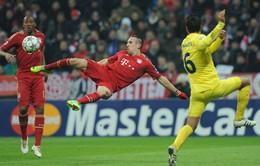 Ấn tượng thể thao: Những pha làm bàn ấn tượng của Ribery