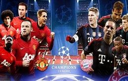 Bayern Munich - Man Utd: Thời khắc của sự thật! (1h45 ngày 10/4, VTV3, K+1)