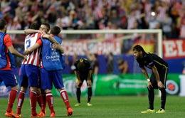"""Atletico 1-0 Barcelona: Đè bẹp """"gã khổng lồ"""""""