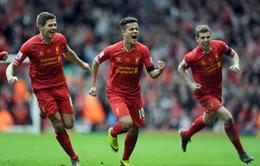 """Liverpool 3-2 Man City: """"Lữ đoàn Đỏ"""" thắng kịch tính """"Man xanh"""""""