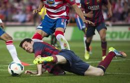 Granada 1-0 Barca: Nỗi đau thêm dài (VIDEO)