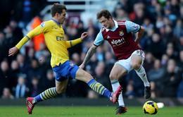 Arsenal - West Ham: Gian nan đường trở lại top 4 (1h45 ngày 16/4, K+1)