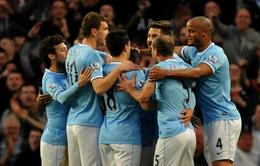 Hạ West Brom, Man City tiếp tục nuôi hi vọng bám đuổi Liverpool