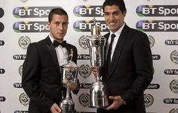 Mặc kệ Liverpool thua Chelsea, Suarez nhận danh hiệu cầu thủ xuất sắc nhất năm