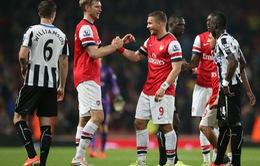 Thắng đậm Newcastle, Arsenal xây chắc vị trí trong top 4