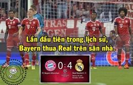Ảnh chế Bayern thua tan nát trước Real Madrid