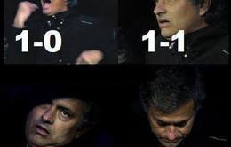 Ảnh chế Mourinho đi tìm xe bus Chelsea sau thất bại trước Atletico