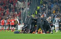 Xuất sắc cầm hoà Juve, Benfica giành quyền vào chung kết Europa League