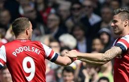 Thắng tối thiểu West Brom, Arsenal chắc chân top 4