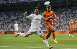 Hoà may mắn Valencia, HLV Ancelotti vẫn tin Real sẽ vô địch La Liga