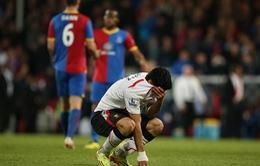 """Hoà """"điên rồ"""" Crystal, HLV Rodgers thừa nhận Liverpool hết cửa vô địch"""