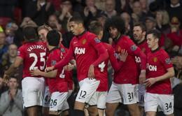 Man Utd đại thắng trong bữa tiệc cuối ở Old Trafford