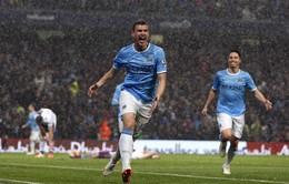 Đại thắng Aston Villa, Man City có nửa chức vô địch Premier League
