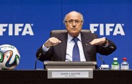 Chủ tịch Sepp Blatter tiếp tục tranh cử nhiệm kỳ tới