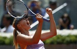 Madrid Masters: Đánh bại Radwanska dễ dàng, Sharapova giành vé vào chung kết