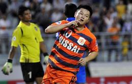 Lập cú đúp đưa Ninh Bình vào tứ kết AFC Cup, Văn Quyến rút lại quyết định giải nghệ