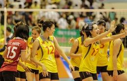 VTV Cup 2014: Thắng thuyết phục Triều Tiên, Việt Nam chắc suất vào bán kết