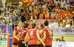 VTV Cup 2014: Thắng dễ Kazakhstan, Việt Nam tái ngộ Thái Lan ở chung kết