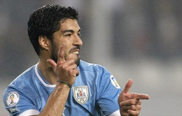 """Uruguay chốt danh sách: """"Canh bạc"""" mang tên Suarez"""