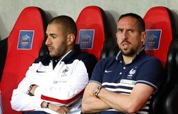 ĐT Pháp chốt danh sách: Bất chấp chấn thương, Ribery vẫn có mặt