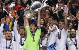 Messi không có tên trong danh sách đội hình tiêu biểu Champions League