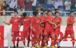 ĐT Việt Nam vẫn đứng đầu Đông Nam Á dù tụt 7 bậc