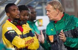 Eto'o và các đồng đội ở Cameroon định bỏ World Cup vì tiền thưởng ít