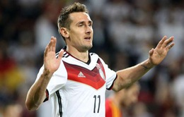 Miroslav Klose trên đường trở thành huyền thoại mới của World Cup