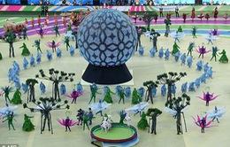 Khai mạc World Cup 2014: Ngắn gọn và đậm chất Samba