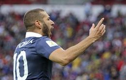 Pháp 3-0 Honduras: Benzema chói sáng, Les Bleus có 3 điểm thuyết phục