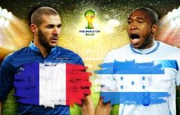 World Cup 2014, Bảng E, Pháp - Honduras: Xua tan ám ảnh Nam Phi (2h00 16/6, VTV3)