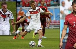 """Đức 4-0 Bồ Đào Nha: Muller rực sáng giúp """"Cỗ xe tăng"""" đại thắng ngày ra quân"""