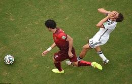 """Chiếc thẻ đỏ của Pepe: """"Kịch sĩ"""" Muller kêu vô tội"""