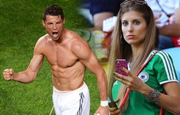 """Cris Ronaldo bị bạn gái tuyển thủ Đức chê """"ẻo lả"""" như người mẫu"""