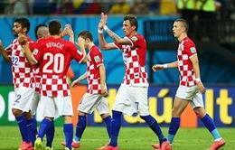 Bảng A World Cup 2014: Đại thắng Cameroon, Croatia tràn đầy cơ hội giành vé đi tiếp