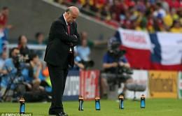 """HLV Del Bosque: """"Tây Ban Nha đã quá nhút nhát và thiếu dũng cảm"""""""