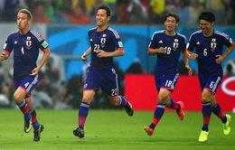 World Cup 2014 Bảng C, Nhật Bản - Hy Lạp: Tinh thần Samurai quật khởi (5h00 ngày 20/6, VTV6)
