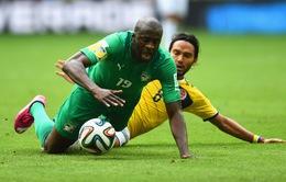 """World Cup 2014, bảng C, Colombia 2-1 Bờ Biển Ngà: """"Bầy voi"""" gục ngã"""