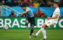 Suarez tiết lộ đã bị chuột rút trước khi ghi bàn thứ 2