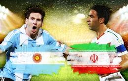 Bảng F World Cup 2014, Argentina - Iran: Vũ điệu Tango nhảy múa! (23h00, VTV6)