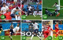 Chùm ảnh: Cảm xúc thăng hoa từ bữa đại tiệc bàn thắng của Pháp và Thuỵ Sĩ
