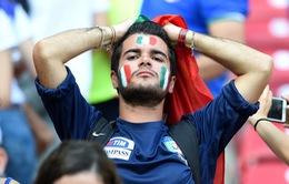Chùm ảnh: Italy thất bại trước kẻ vô danh Costa Rica