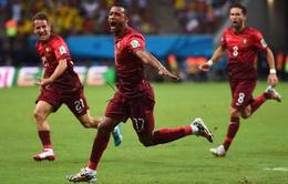 Cập nhật kết quả, BXH World Cup 2014 ngày 23/6: Bỉ giành vé sớm, Bồ Đào Nha hoà kịch tính Mỹ