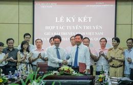 Đài THVN ký kết hợp tác cùng Ủy ban ATGT Quốc gia