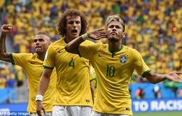Bảng A World Cup 2014: Brazil đại thắng dắt tay Mexico đi tiếp